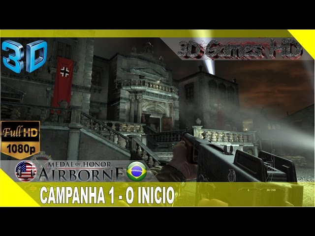 3D Medal of Honor Airborne GamePlay Campaign - The Beginning | 1080p Half-SBS