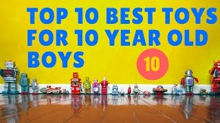 10 Best Toys For 10 Year Old Boys ✅🔟☑️