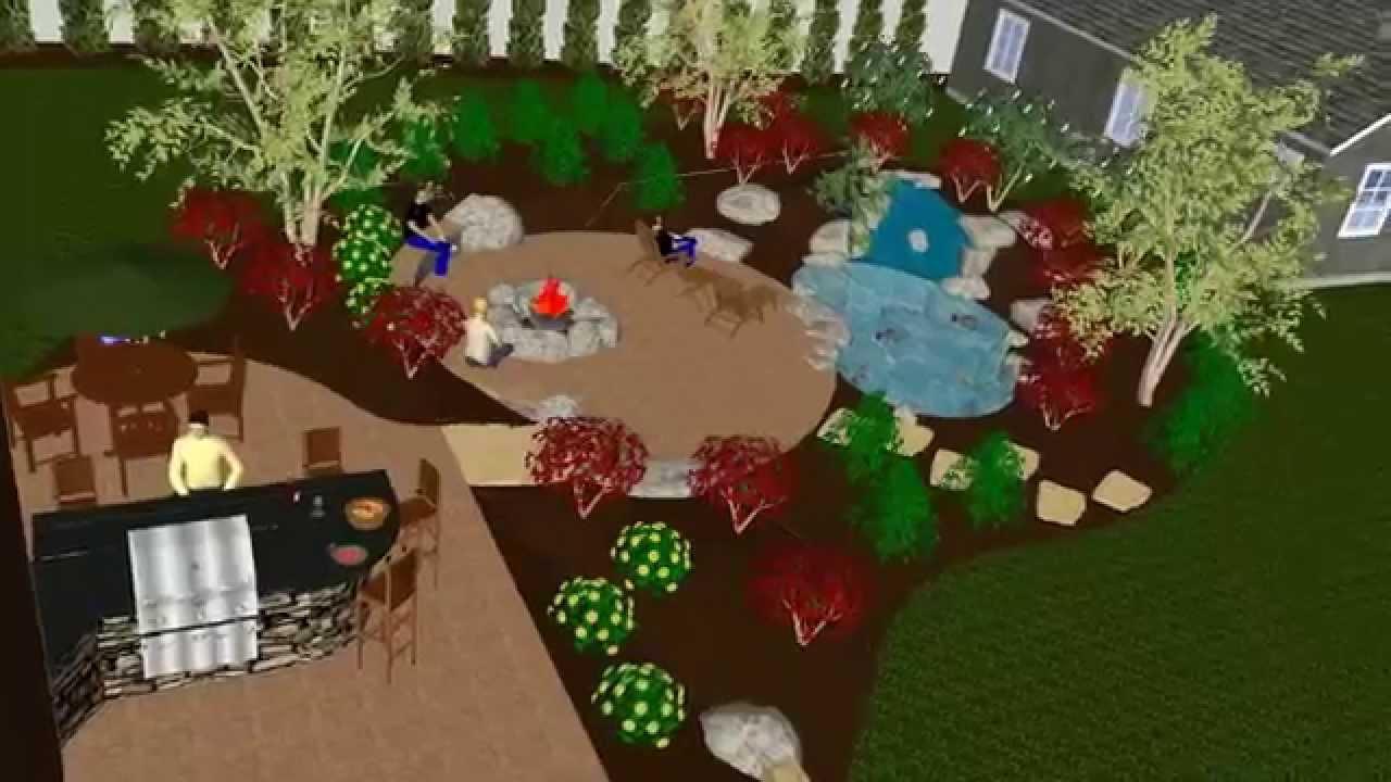 full backyard makeover timelapse youtube