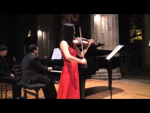 G.F. Händel / Violin Sonata No. 4 in D Major HWV 371/ Jean Dubé - Rika Masato