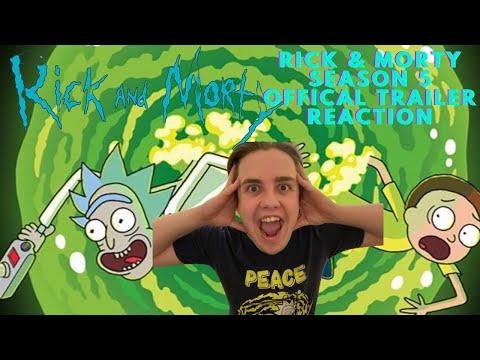 SMITHBOI REACTS TO : Rick & Morty Season 5 Official Trailer Reaction!!!!