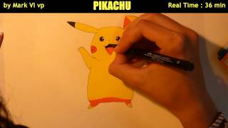 Flash Draw #3 / Pikachu / Mark VI vp