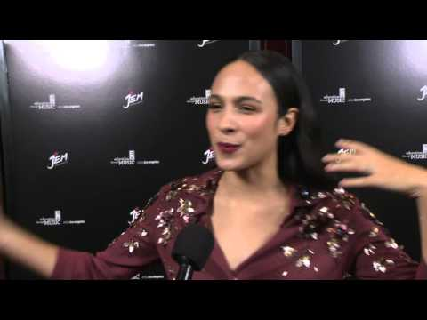 """Jem and the Holograms: Aurora Perrineau """"Shana"""" Special Movie Premiere Interview"""