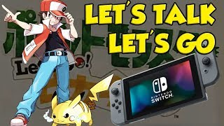 Pokemon Switch News - Let's Talk About Pokemon Let's Go