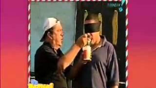 PEGADINHA EXPERIMENTANDO MACARRÃO-2013-TE PEGUEI .REDE TV
