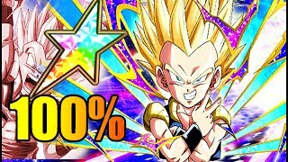 100% potential system ssj sealtenks!!! he hits hard!!!! dbz: dokkan battle!