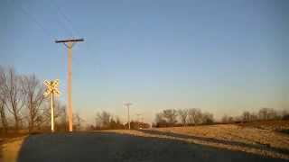BNSF 5682 leads a northbound coal train.