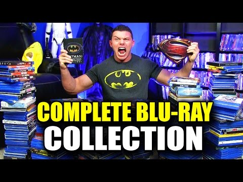 Complete BLU-RAY MOVIE Collection!
