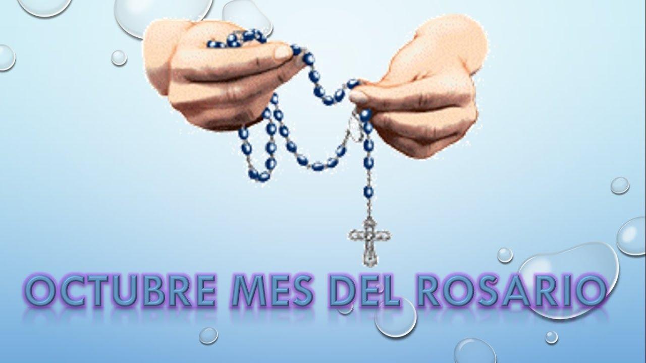 Resultado de imagen de mes del rosario