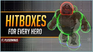 OVERWATCH HITBOXES for EVERY HERO