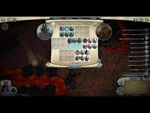 Age of Wonders III  Dwarf Rogue VS Dwarf Archdruid |