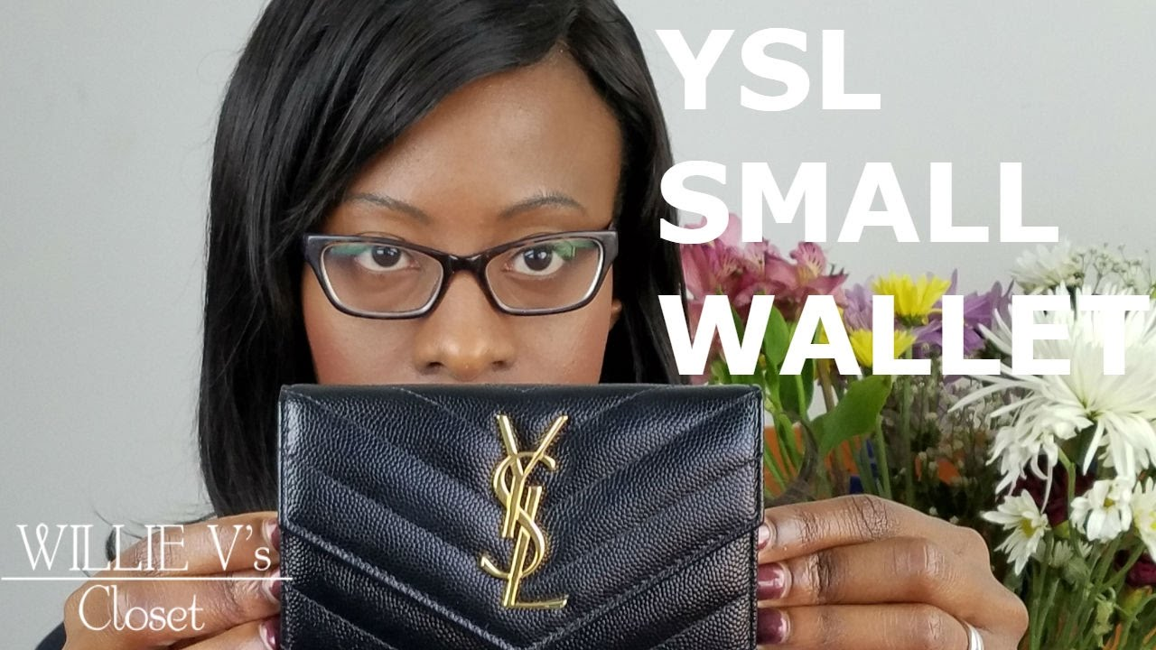 1eb39106d0f YSL Small Wallet, YSL Small Envelope Wallet Saint Laurent - YouTube