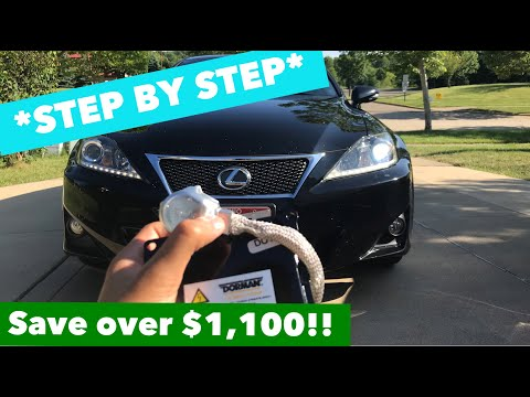 How to change / replace the headlamp ballast on a Lexus IS250 /IS350 / ISF *STEP-BY-STEP*