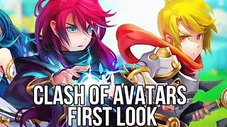 Clash of Avatars (Free Browser MMORPG): Watcha Playin