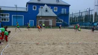 19.05.16. Пляжный гандбол.  Волгоград-1 – Майкоп