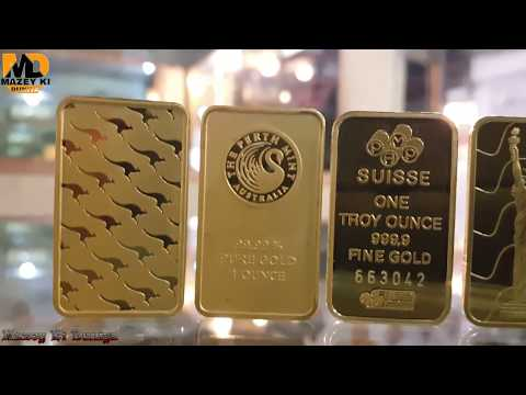 $41,000 SOLID GOLD BAR | Swiss One Ounce Gold Bar Review | Gold Collection 10 Oz 100g