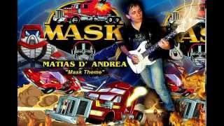 MÁSCARA de TEMA - Matias D' Andrea (de dibujos animados de la Tv Serie)