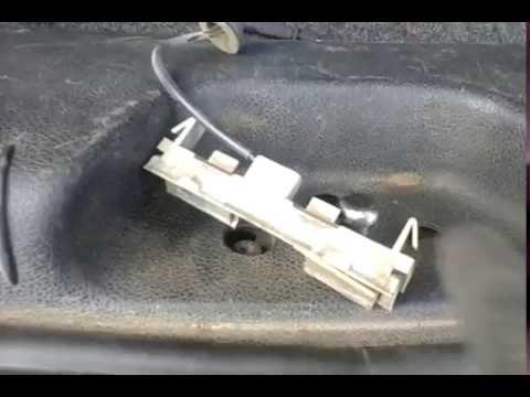 ford mondeo 3 Кнопка багажника, ремонт 1