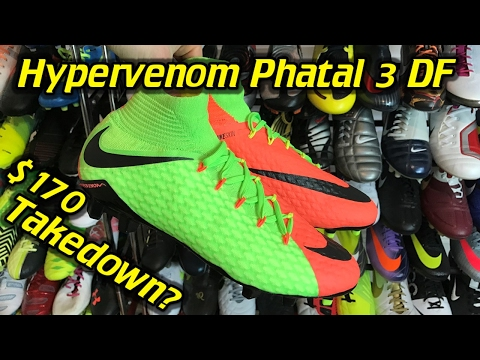 b85c6d28a Nike Hypervenom Phatal 3 DF (Radiation Flare Pack) - One Take Review + On