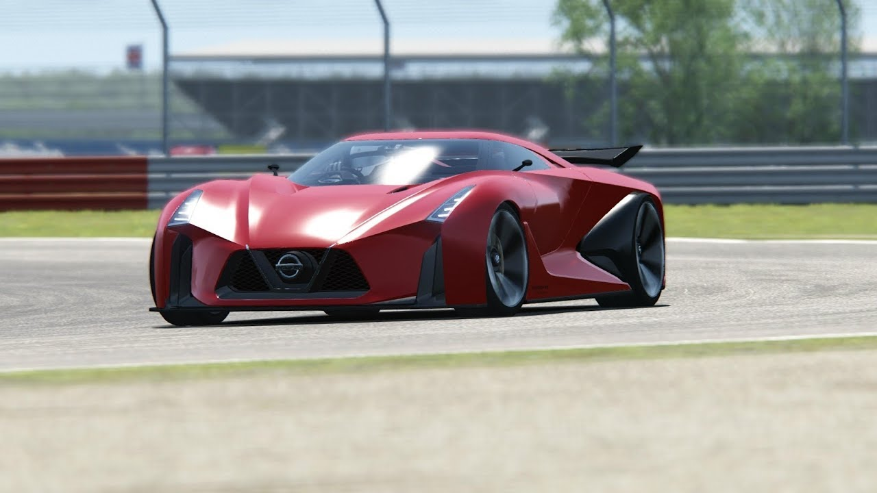 Nissan Concept 2020 Vision Gran Turismo Top Gear Testing At Silvestone Youtube