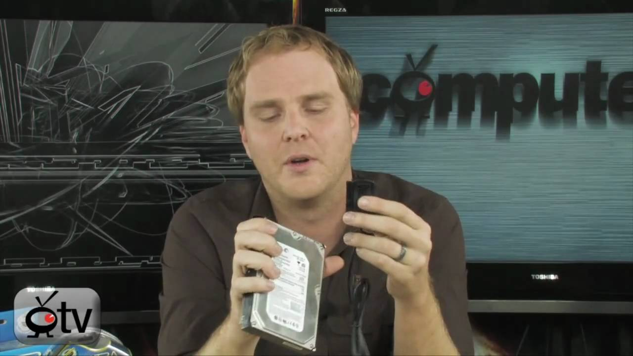 Computertv How To Convert An Ide Hard Drive Sata Youtube Usb Data Cable Wiring Diagram