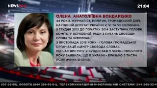 """Есть ли в Украине право на свободу слова? Елена Бондаренко в ток-шоу """"Эпицентр украинской политики"""""""
