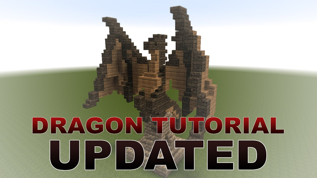 Minecraft Tutorial Dragon Updated Youtube