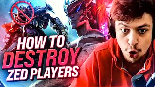 LL STYLISH | HOW TO DESTROY ZED PLAYERS