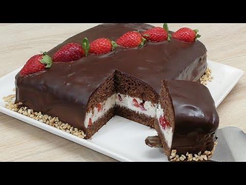 🍓-kinder-dÉlice-xxl-a-la-fraise-trÈs-facile-(cuisine-rapide)🍓-✔