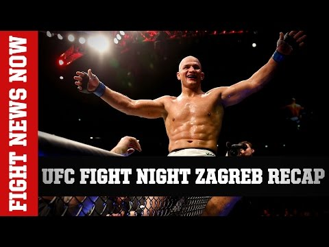 UFC Fight Night Zagreb Recap: dos Santos & Lewis with Big Wins on Fight News Now
