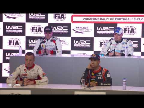 WRC - Vodafone Rally de Portugal 2017: PRE-EVENT Press Conference