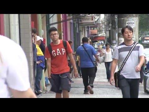 Bom Retiro: Sao Paulo's Korean neighbourhood.