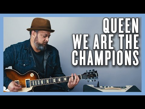 Queen We Are the Champions Guitar Lesson + Tutorial