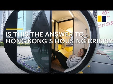 Live in a water pipe: potential answer to Hong Kong's housing crisis
