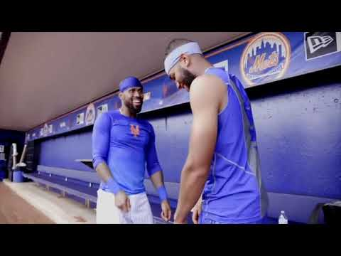 Amed Rosario and Jose Reyes reveal new Mets handshake for 2018!