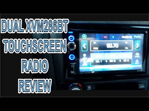 Dual XVM286BT Double Din Touchscreen Radio Review