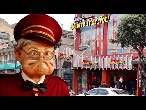 The Weirdest Place On The Wharf - Ripley's Believe It Or Not in San Francisco / Into The Odditorium