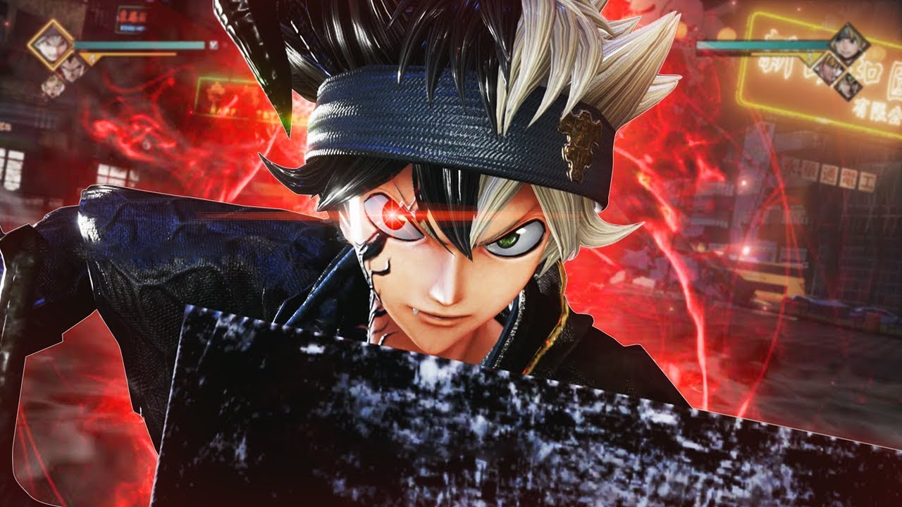 Black Demon Form Transformation Asta Gameplay Online Ranked Match Jump Force Gameplay Youtube