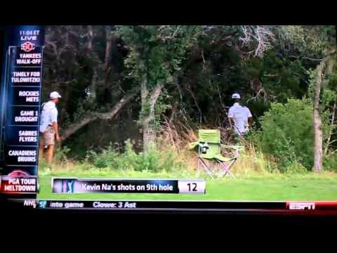Kevin Na Shoots 16 at PGA Tournament