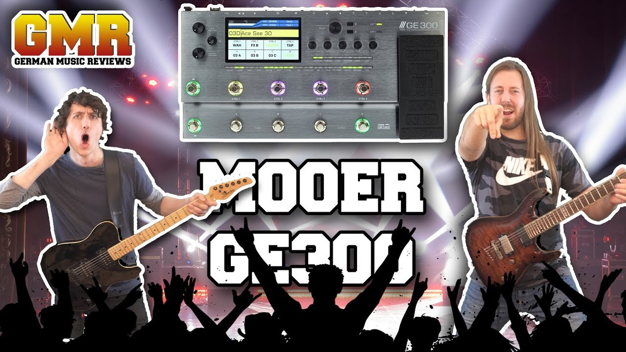 Mooer GE300 Review - Studio Quality