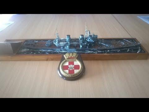 HMS Prince of Wales presentation