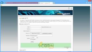 Como é que posso criar uma conta FTP no cPanel?