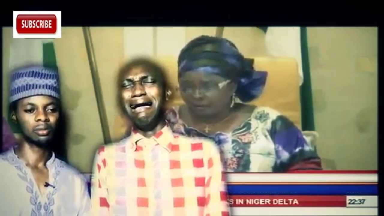 Download Chibok Girls:Dramatic First Lady Patience Jonathan Cries Again (complete video) 'blood sharing'