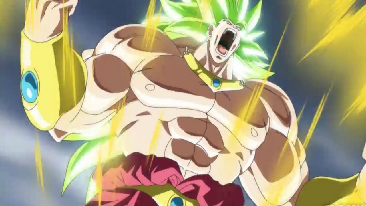 Download All Broly Forms And Transformations