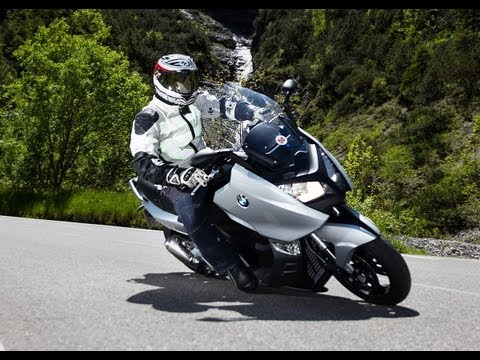 BMW C 600 Sport - Test in den Alpen