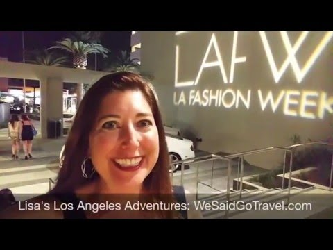 Los Angeles Fashion Week Colombia Square March 17 2016
