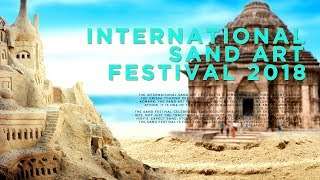 INTERNATIONAL SAND ART FESTIVAL 2018, KONARK, ODISHA, INDIA