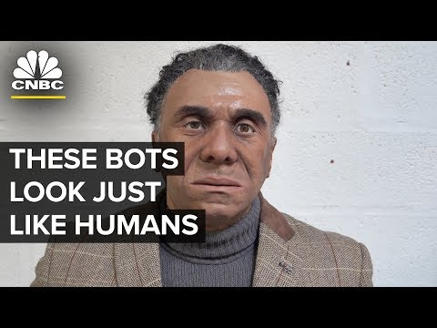Lifelike Robot Mesmer Is Hard To Tell Apart From Humans | CNBC