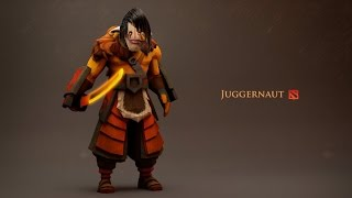 DotA 2 - SingSing (Juggernaut) is a powerful roamer and gets surprisingly farmed