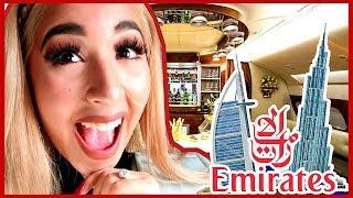 24 HORAS EN EL AVION MAS CARO DEL MUNDO! DUBAI | QueenBuenrostro